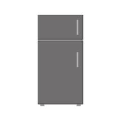 fridge icon over white background vector illustration
