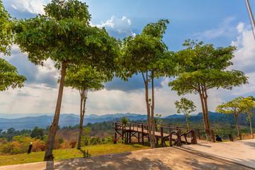 Nean Sawan viewpoint Kanchanaburi.