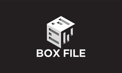 Box Document logo template designs, Online Document Logo template designs