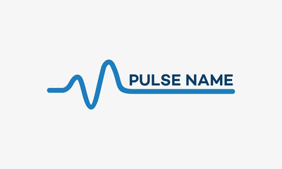 Simple Pulse Logo template