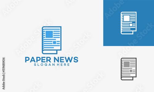 Modern newspaper logo template designs vector illustration stock modern newspaper logo template designs vector illustration maxwellsz