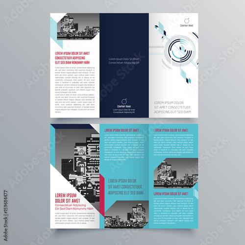 Brochure Design Brochure Template Creative Trifold Trend - Free creative brochure templates