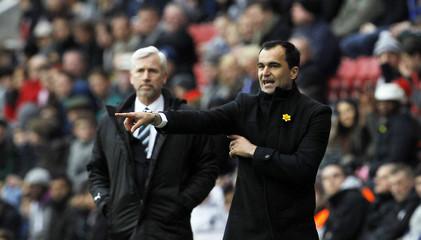 Wigan Athletic v Newcastle United - Barclays Premier League