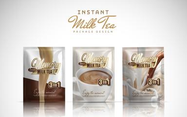 instant milk tea Wall mural