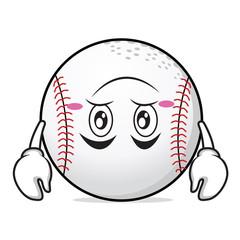 Tired baseball cartoon character collection