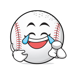 Joy baseball cartoon style character