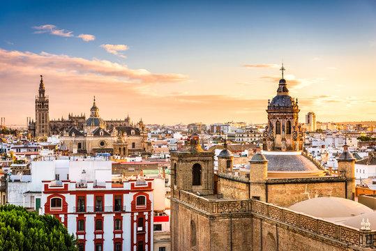 Seville, Spain Skyline