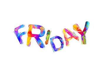Friday - happy end of the week