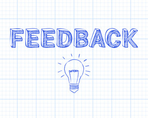 Feedback Light Bulb Graph Paper