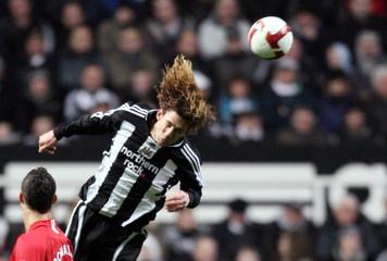 Newcastle United v Manchester United Barclays Premier League