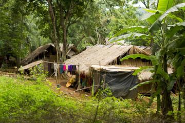 Strohhaus im Jungle