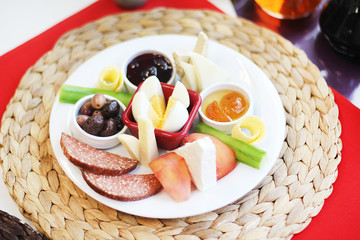 en renkli sabah kahvaltısı