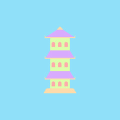 Traditional Chinese House Asian architecture, pagoda, tample