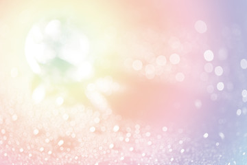 blurred crystal shiny with bokeh background