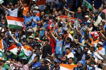 India fans celebrate