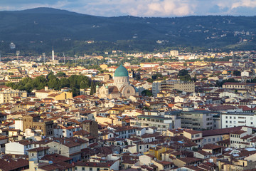 City view of Florence, Tuscany, Italy