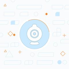 web camera vector icon