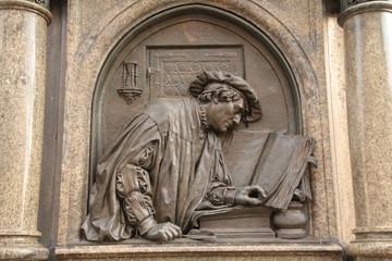Martin Luther, Lutherdenkmal Eisleben