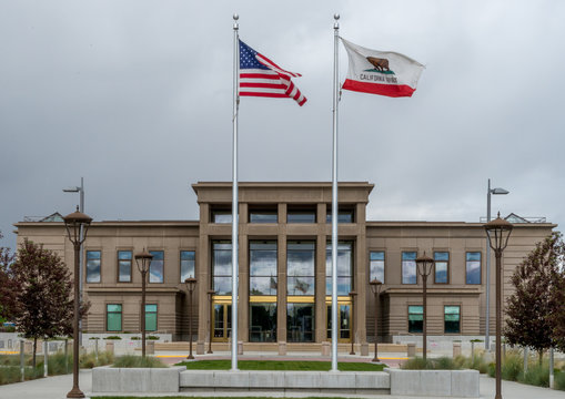 Lassen County Courthouse in Susanville, California