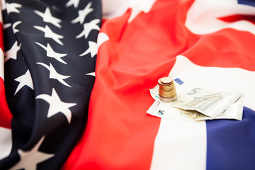 Financial relations between the United States and Britain. Backg