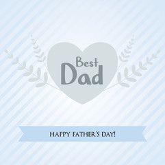 Father's day holiday background