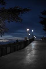 The dusk in San Marino.