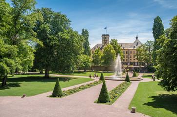 Stadtschloss mit Schlossgarten in Fulda