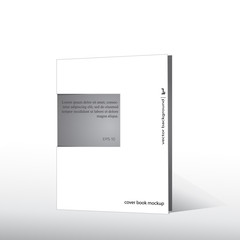 Business Blank. Cover book mockup.