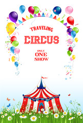 Summer travelling circus