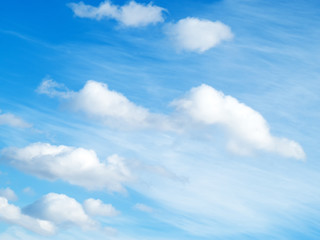 blue sky with cloud. l