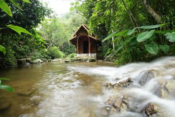 Unseen Thailand, Wat  Kantrapruksa (Wat Mae Kampong) Church Water, Chiang Mai Thailand
