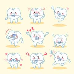 tooth wear brace do emotion