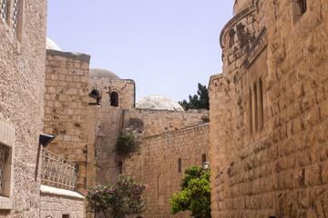 Ancient buildings of Jerusalem