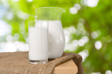 milk and green space