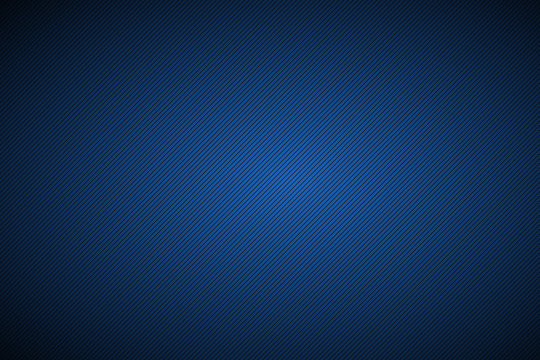 Black and blue abstract background with diagonal lines, vector illustration