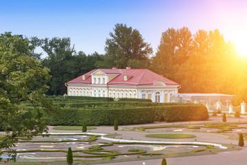 Picture house, middle of the 18th century.  Oranienbaum (Lomonosov). Lower park