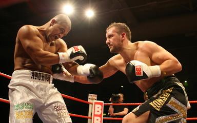 Chris Edwards v Wayne Bloy British Flyweight Title