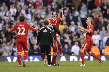 Fulham v Liverpool Barclays Premier League