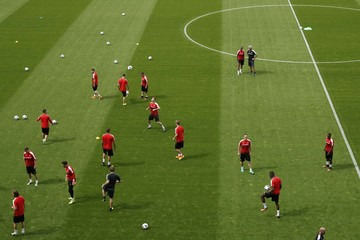 Switzerland Training - Euro 2016