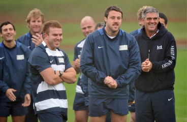 Northern Hemisphere v Southern Hemisphere - Heroes Rugby Challenge Press Conferences & Training