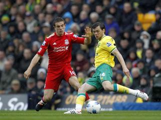 Norwich City v Liverpool Barclays Premier League