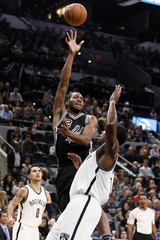 NBA: Brooklyn Nets at San Antonio Spurs