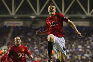 Wigan Athletic v Manchester United Barclays Premier League