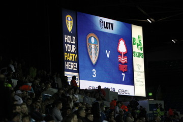 Leeds United v Nottingham Forest npower Football League Championship