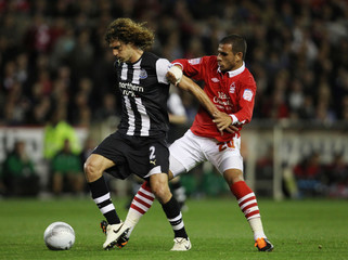 Nottingham Forest v Newcastle United Carling Cup Third Round
