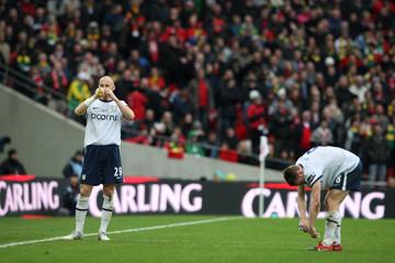Aston Villa v Manchester United Carling Cup Final