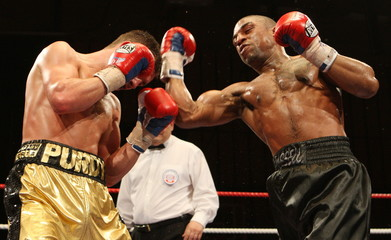 Denton Vassell v Lee Purdy Commonwealth Welterweight Title