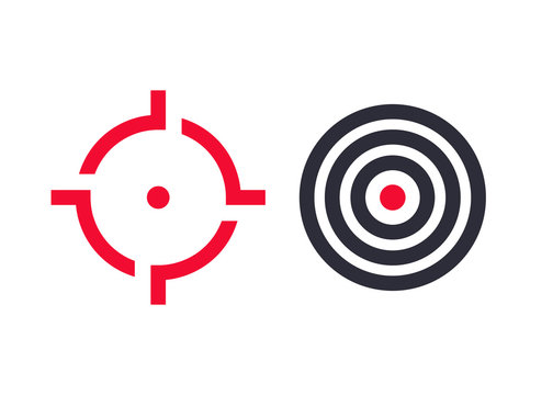 crosshair and target icons
