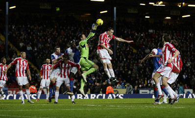 Blackburn Rovers v Stoke City Barclays Premier League