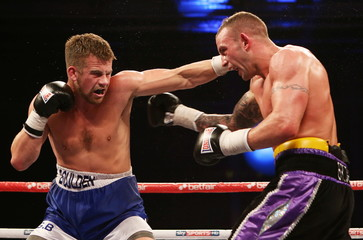 Ricky Burns v Jose Gonzalez WBO Lightweight Title